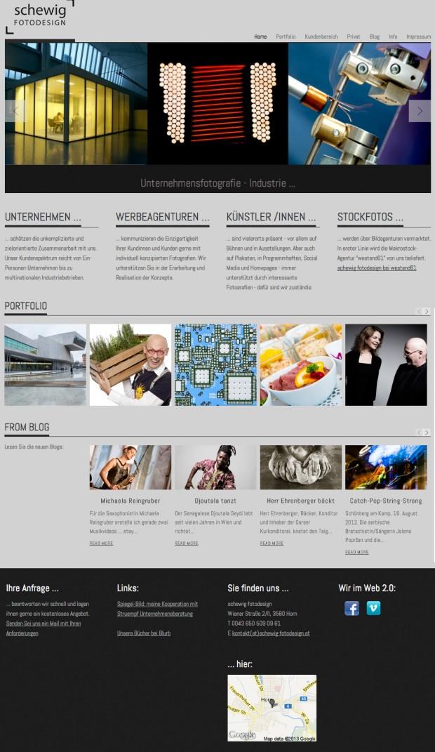 Startseite von www.schewig-fotodesign.at